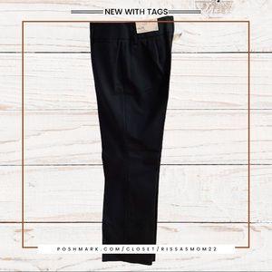 LOFT Navy Laura  Stretch Straight Leg Pants Size 6